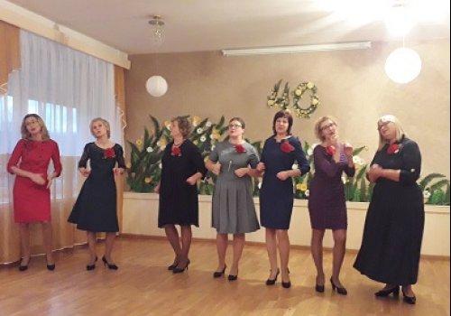 Šventinis koncertas darželio darbuotojams